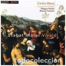CDs de Música: ANTONIO VIVALDI - STABAT MATER (CD) CARLOS MENA, RICERCAR CONSORT. Lote 144992722