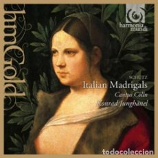 CDs de Música: HEINRICH SCHÜTZ - ITALIAN MADRIGALS (CD) CANTUS CÖLLN. Lote 144993546