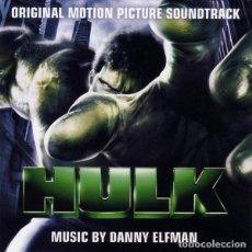 CDs de Música: HULK / DANNY ELFMAN CD BSO. Lote 145024490