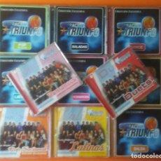 CDs de Música: OPERACION TRIUNFO 11 CD'S VALE MUSIC 2002 Y 2003. Lote 145048558