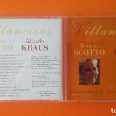 CDs de Música: ALFREDO KRAUS/RENATA SCOTTO VILLANCICOS AÑO 1998 ALFA DELTA S.L. PRECINTADO!. Lote 236362950