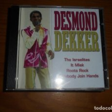 CDs de Música: DESMOND DEKKER. THE ISRAELITES Y OTRAS. FOREVER GOLD, 2001. CD. IMPECABLE (#). Lote 145090722