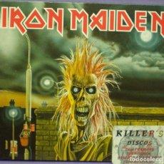 CDs de Música: IRON MAIDEN - IRON MAIDEN - CD DIGIPACK REMASTERIZADO. Lote 145099742
