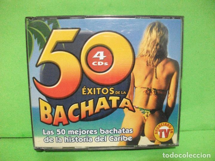 4 X CD S ALBUM ) 50 ÉXITOS DE LA BACHATA JM RECORDS - 2002 - NUEVO ¡¡¡ PEPETO (Música - CD's Latina)