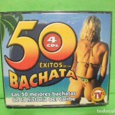 CDs de Música: 4 X CD S ALBUM ) 50 ÉXITOS DE LA BACHATA JM RECORDS - 2002 - NUEVO ¡¡¡. Lote 145128514