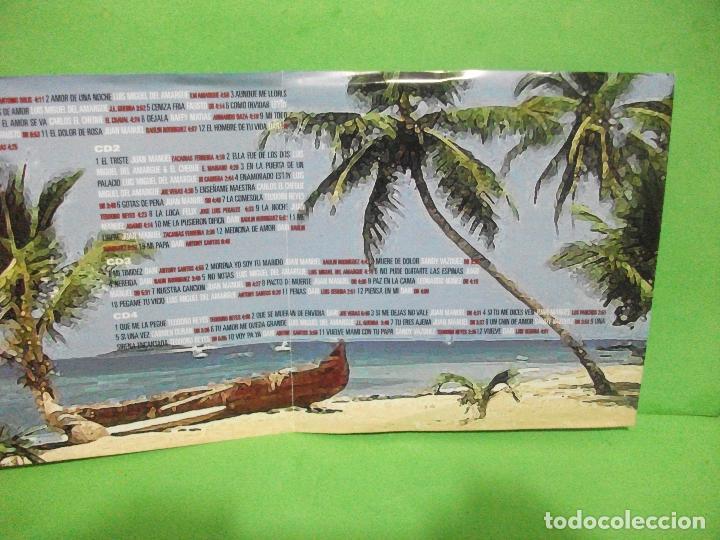 CDs de Música: 4 x cd s album ) 50 ÉXITOS DE LA BACHATA JM RECORDS - 2002 - NUEVO ¡¡¡ PEPETO - Foto 4 - 145128514