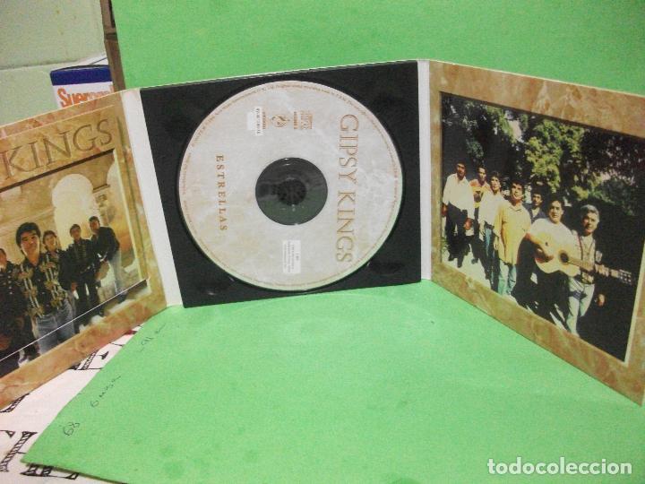 CDs de Música: GIPSY KINGS - ESTRELLAS - CD DIGIPACK + LIBRETO nuevo¡¡ PEPETO - Foto 2 - 145129074