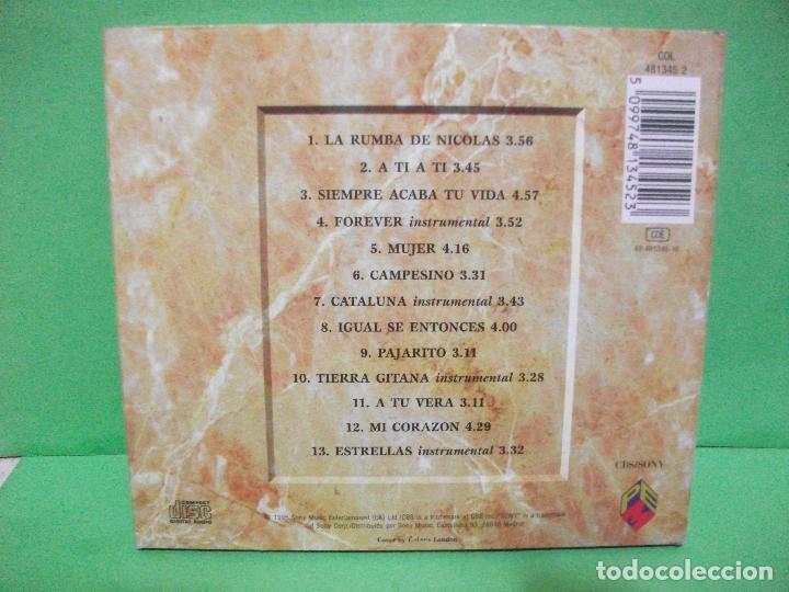 CDs de Música: GIPSY KINGS - ESTRELLAS - CD DIGIPACK + LIBRETO nuevo¡¡ PEPETO - Foto 3 - 145129074