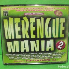 CDs de Música: MERENGUE MANIA VOL 2 / 4 X CD 240 MINUTOS MIXED NUEVO¡¡. Lote 145130154