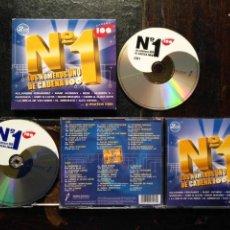 CDs de Música: DOBLE CD CADENA 100 ALEJANDRO FERNANDEZ BEBE THE CORRS ANDY LUCAS ALEX UBAGO ARREBATO HOMBRES G. Lote 145154002