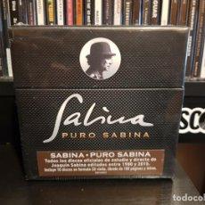 CDs de Música: JOAQUIN SABINA - PURO SABINA - 19 CD'S - NUEVO PRECINTADO. Lote 145170018