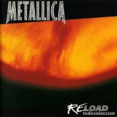 CDs de Música: METALLICA - RELOAD -1 X CD - CONTIENE EXTENSO LIBRETO CON FOTOS Y LETRAS DE CANCIONES. Lote 145338630