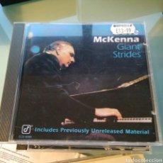 CDs de Música: DAVE MCKENNA – GIANT STRIDES. Lote 145362022