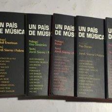 CDs de Música: COLECCION DE 7 CDS MUSICA ANTIGUA ( UN PAIS DE MUSICA ). Lote 145389266