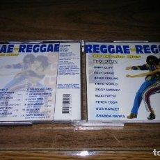 CDs de Música: REGGAE REGGAE - DOBLE CD RECOPILATORIO (ARCADE, 1993) JIMMY CLIFF, EDDY GRANT, BOB MARLEY.... Lote 191468491