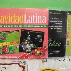 CDs de Música: DOBLE CD NAVIDAD LATINA VILLANCICOS AGUILE CELIA CRUZ LUCHO GATICA EYDIE GORME LOS PANCHOS PEPETO. Lote 145394186