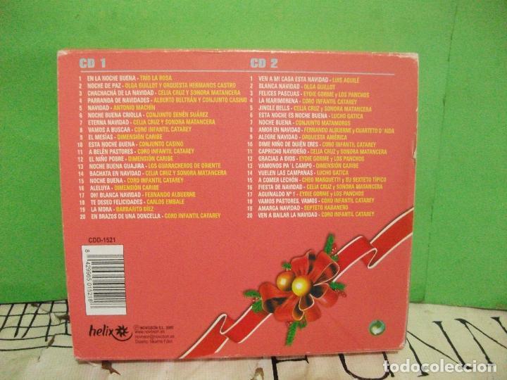 CDs de Música: DOBLE CD NAVIDAD LATINA VILLANCICOS AGUILE CELIA CRUZ LUCHO GATICA EYDIE GORME LOS PANCHOS PEPETO - Foto 3 - 145394186