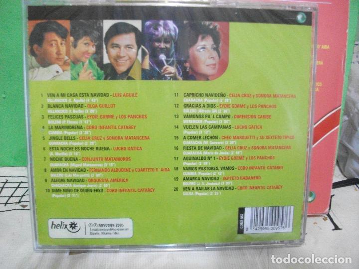 CDs de Música: DOBLE CD NAVIDAD LATINA VILLANCICOS AGUILE CELIA CRUZ LUCHO GATICA EYDIE GORME LOS PANCHOS PEPETO - Foto 4 - 145394186