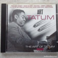 Music CDs - THE ART OF TATUM, ART TATUM. - 145422981