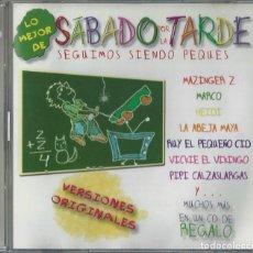 CDs de Música: LO MEJOR DE SABADO POR LA TARDE 2 CD , 2003 - MAZINGER Z - MARCO - LA ABEJA MAYA - POPEYE. Lote 145452230