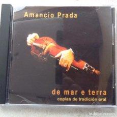 CDs de Música: DE MAR E TERRA. AMANCIO PRADA.. Lote 145511789