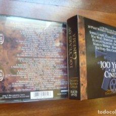 CDs de Música: 100 AÑOS DE CINE DOBLE CD 100 YEARS OF CINEMA IDEAL REGALO CINEFILO. Lote 145546918