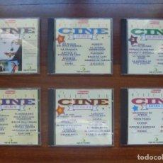 CDs de Música: MÚSICA DE CINE SEIS CD OFERTA TEMAS MEJORES PELÍCULAS SIGLO XX IDEAL REGALO CINEFILO . Lote 145547330