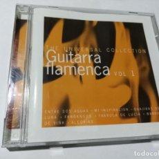 CDs de Música: THE UNIVERSAL COLECTION. GUITARRA FLAMENCA VOL 1. ENTRE DOS AGUAS. MI INSPIRACION. FANDANGOS.. Lote 145548654
