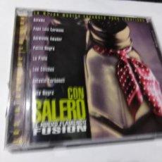 CDs de Música: CON SALERO. EL NUEVO FLAMENCO FUSION. KETAMA. PEPE LUIS CARMONA. LA PLATA. LOS CHICHOS,. Lote 145549358