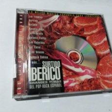 CDs de Música: SURTIDO IBERICO. POP-ROCK ESPAÑOL. LOS ILEGALES. BURNING. KETAMA. LA FRONTERA.. Lote 145549434