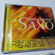 CDs de Música: INSTRUMENTAL. SAXO. GLEN LUCAS. ANOTHER DAY IN PARADISE. ONE MOMENT.. Lote 145550922