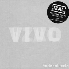CDs de Música: IZAL - VIVO - 2XCD + DVD. Lote 145609302