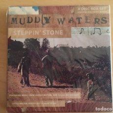 CDs de Música: MUDDY WATERS: STEPPIN' STONE (3 CDS + DVD + LIBRETO 26 PÁG). Lote 145610437
