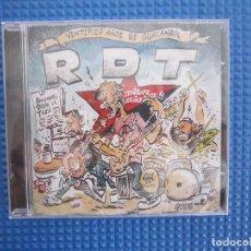 CDs de Música: CD - PUNK - RECOPILACIÓN - RDT (VENTIPICO AÑOS DE GUACANROL) - 2018 - LA RIOJA - PRECINTADO. Lote 188450920