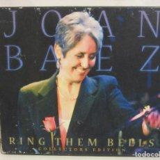 CDs de Música: JOAN BAEZ - RING THEM BELLS - 2 X CD - 2007 - EDICIÓN COLECCIONISTA - REPUBLICA CHECA - EX+/VG. Lote 145666162