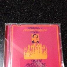 CDs de Música: JOAN MANUEL SERRAT. DEDICADO A ANTONIO MACHADO. POETA.. Lote 145667810