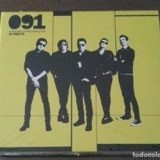CDs de Música: 091 MANIOBRA DE RESURRECCION EN DIRECTO 2 CD DVD PRECINTADO NUEVO. Lote 145700062