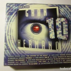 CDs de Música: DOBLE CD MAS DVD GRAN HERMANO 10 AÑO 2008. Lote 145748226