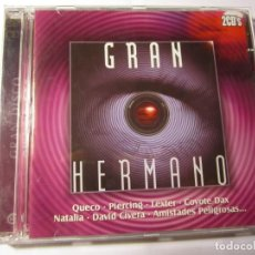 CDs de Música: DOBLE CD GRAN HERMANO GRAN DISCO AÑO 2003. Lote 145754374