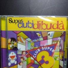 CDs de Música: DOBLE CD SUPER CLUBIDIBUDA ( SAKURA, SAILOR MOON, LA BRUIXA AVORRIDA, AZUKI, DOMMEL, GARFIELD, ETC. Lote 145770826