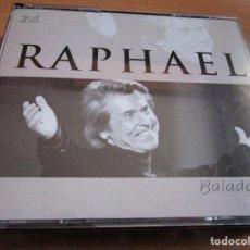CDs de Música: 2 CD'S RAPHAEL ( MADE IN GERMANY ) EL GAVILAN // EL INDIO // LA TIERRA PROMETIDA // DAMA, DAMA //. Lote 145786822