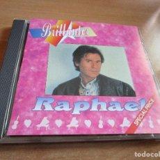 CDs de Música: CD RAPHAEL RAPHAEL BRILLANTES ( USA ) MARAVILLOSO CORAZON, MARAVILLOSO // TOCO MADERA // OYE //. Lote 145787474