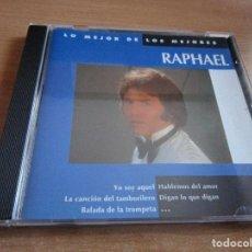 CDs de Música: CD RAPHAEL LO MEJOR DE LOS MEJORES ( USA ) BALADA DE LA TROMPETA // EL GONDOLOLERO // MI GRAN NOCHE . Lote 145787606