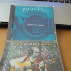 CDs de Música: RAR 2 CD'S. PACO DE LUCIA. ENTRE DOS AGUAS & LUZIA. Lote 145795398