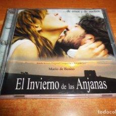 CDs de Música: EL INVIERNO DE LAS ANJANAS BANDA SONORA MUSICA MARIO DE BENITO CD ALBUM PROMO 1999 19 TEMAS MUY RARO. Lote 145802930