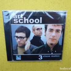 CDs de Música: CD ART SCHOOL ‎– 3 CLOSE MATES POWER POP NEW Ç. Lote 145807158