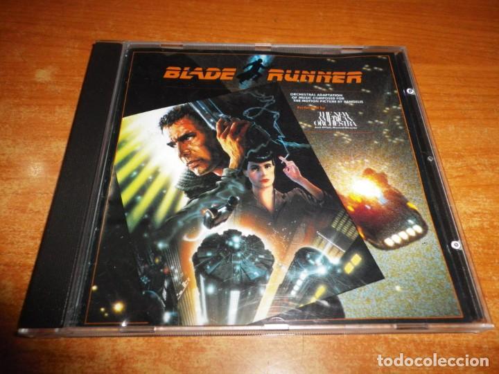 BLADE RUNNER BANDA SONORA THE NEW AMERICAN ORCHESTRA JACK ELLIOTT CD ALBUM 1982 ALEMANIA 8 TEMAS (Música - CD's Bandas Sonoras)