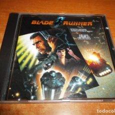 CDs de Música: BLADE RUNNER BANDA SONORA THE NEW AMERICAN ORCHESTRA JACK ELLIOTT CD ALBUM 1982 ALEMANIA 8 TEMAS. Lote 145811910