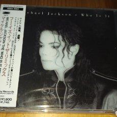 CDs de Música: MICHAEL JACKSON WHO IS IT JAPAN. Lote 145888940