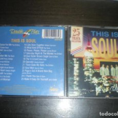 CDs de Música: THIS IS SOUL, VARIOS. Lote 145897762